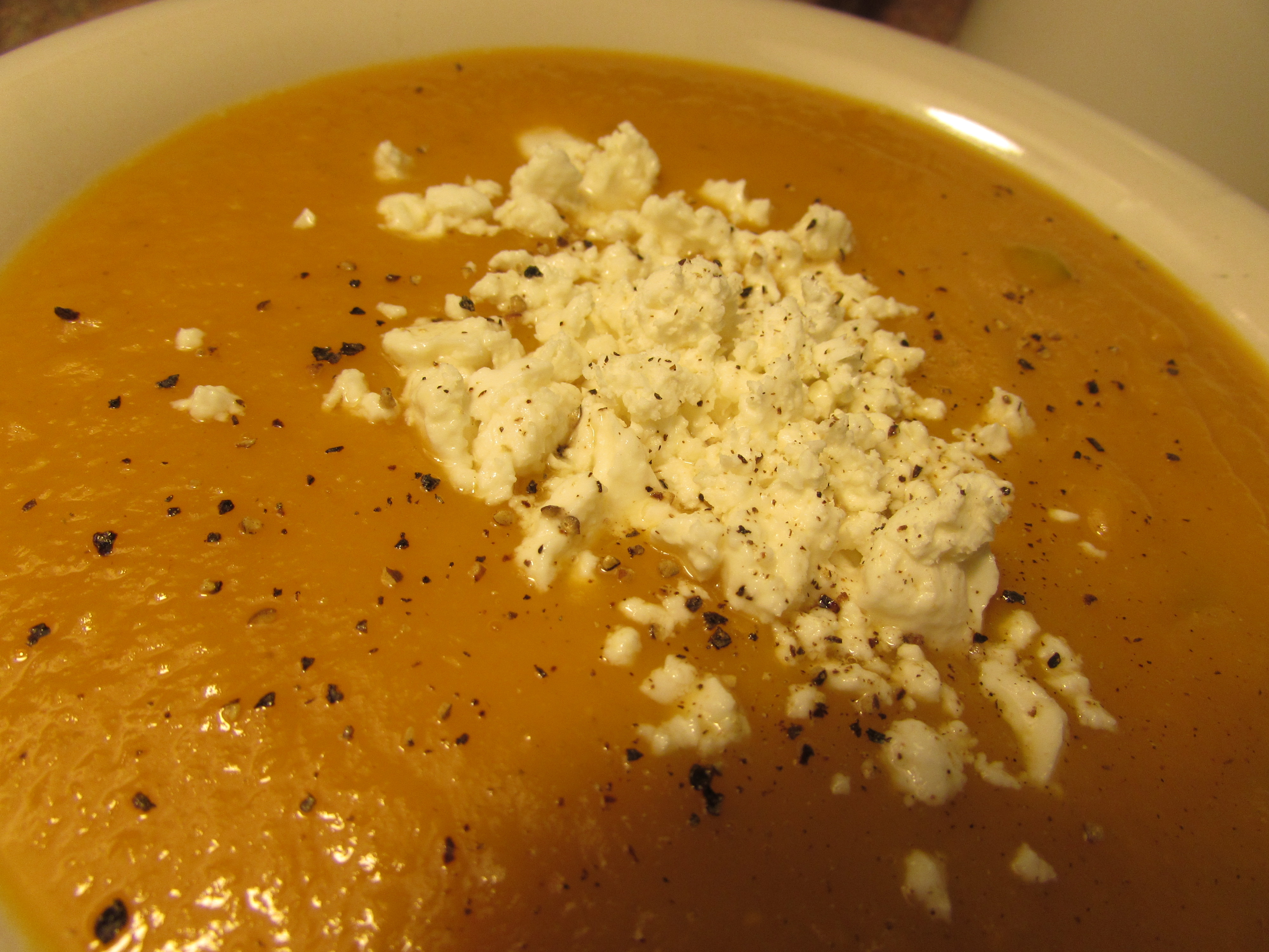 The Weekly Soup – Soft Butternut Squash Soup