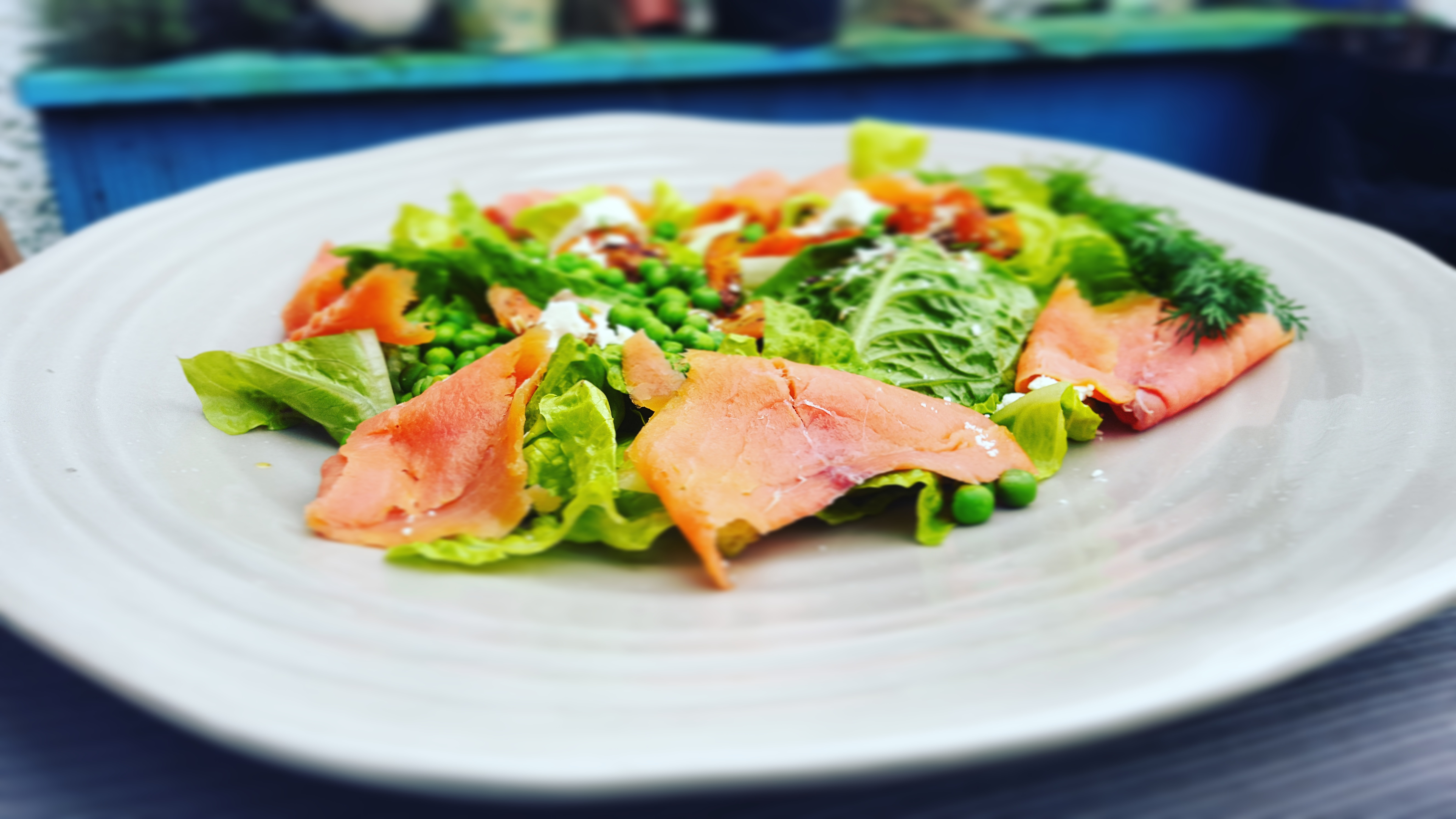 The Weekly Salad – Roasted Carrots, Trout and Greens Salad