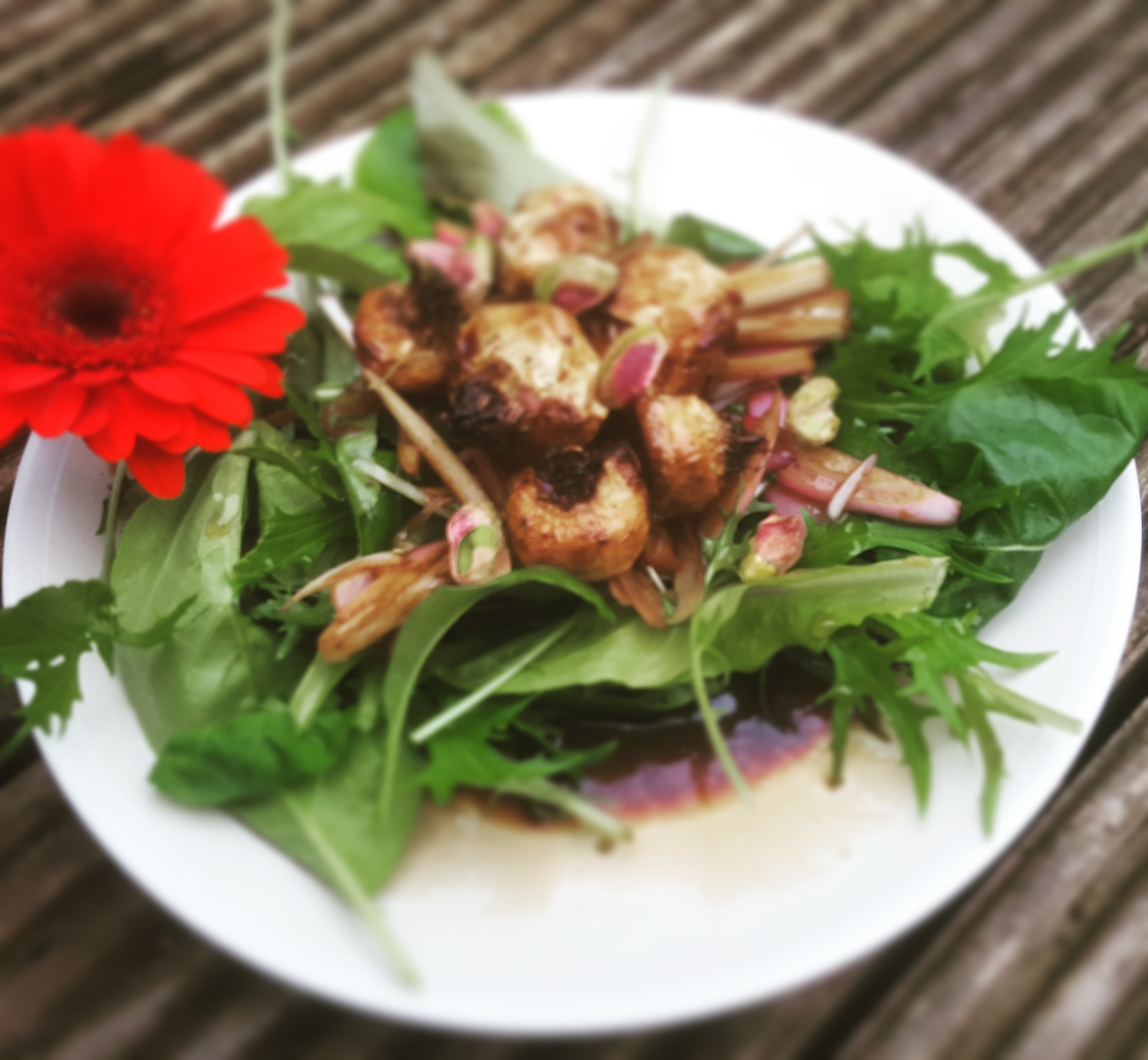 Warming Autumn Salad