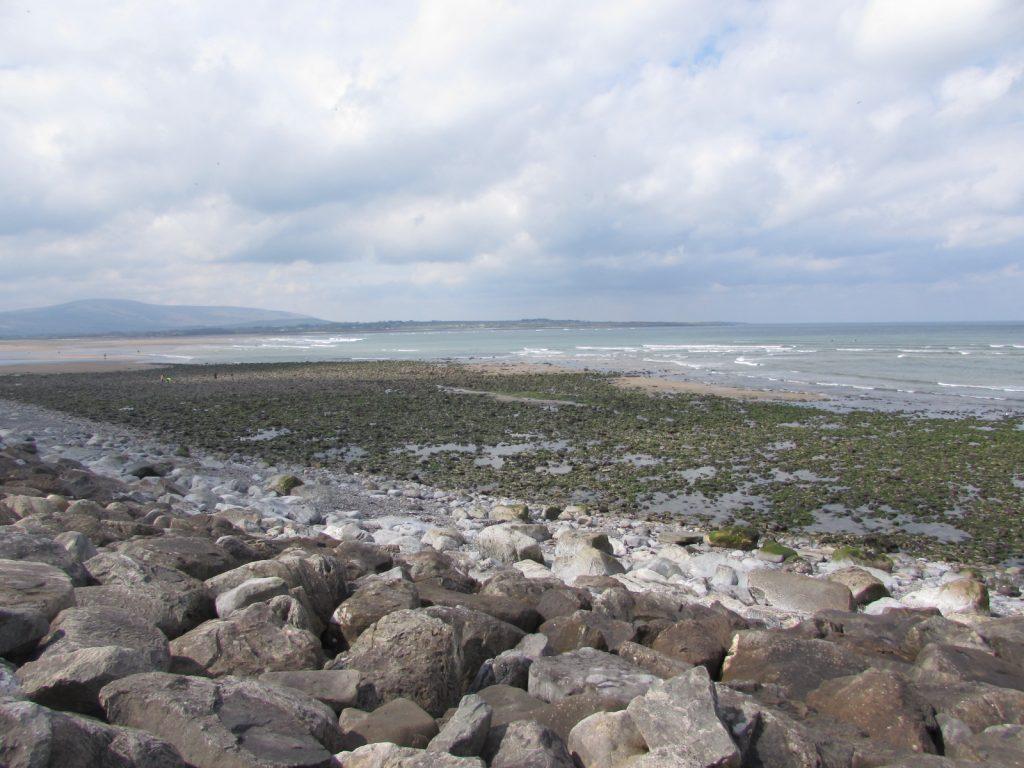 Eating in Sligo Strandhill beach