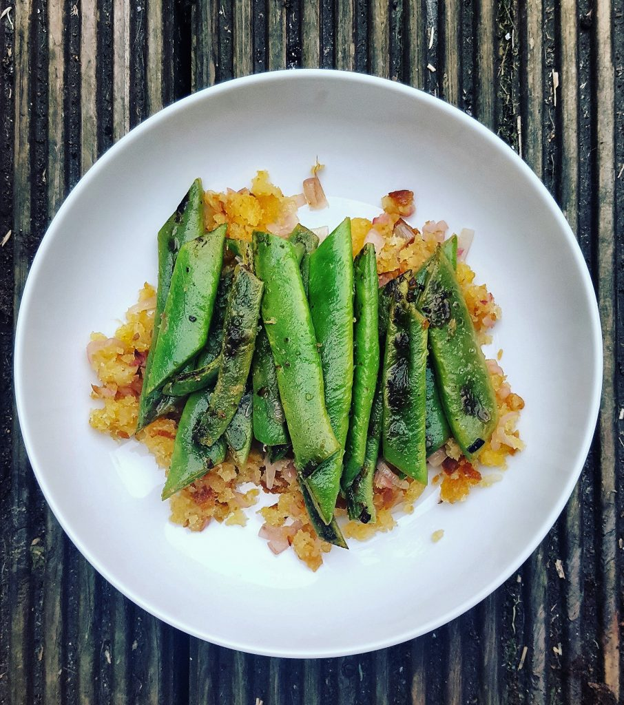 Crumbed Green Beans