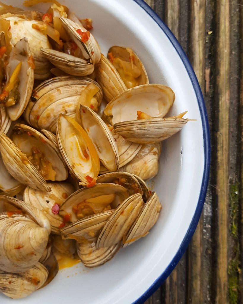 Fresh clams recipe