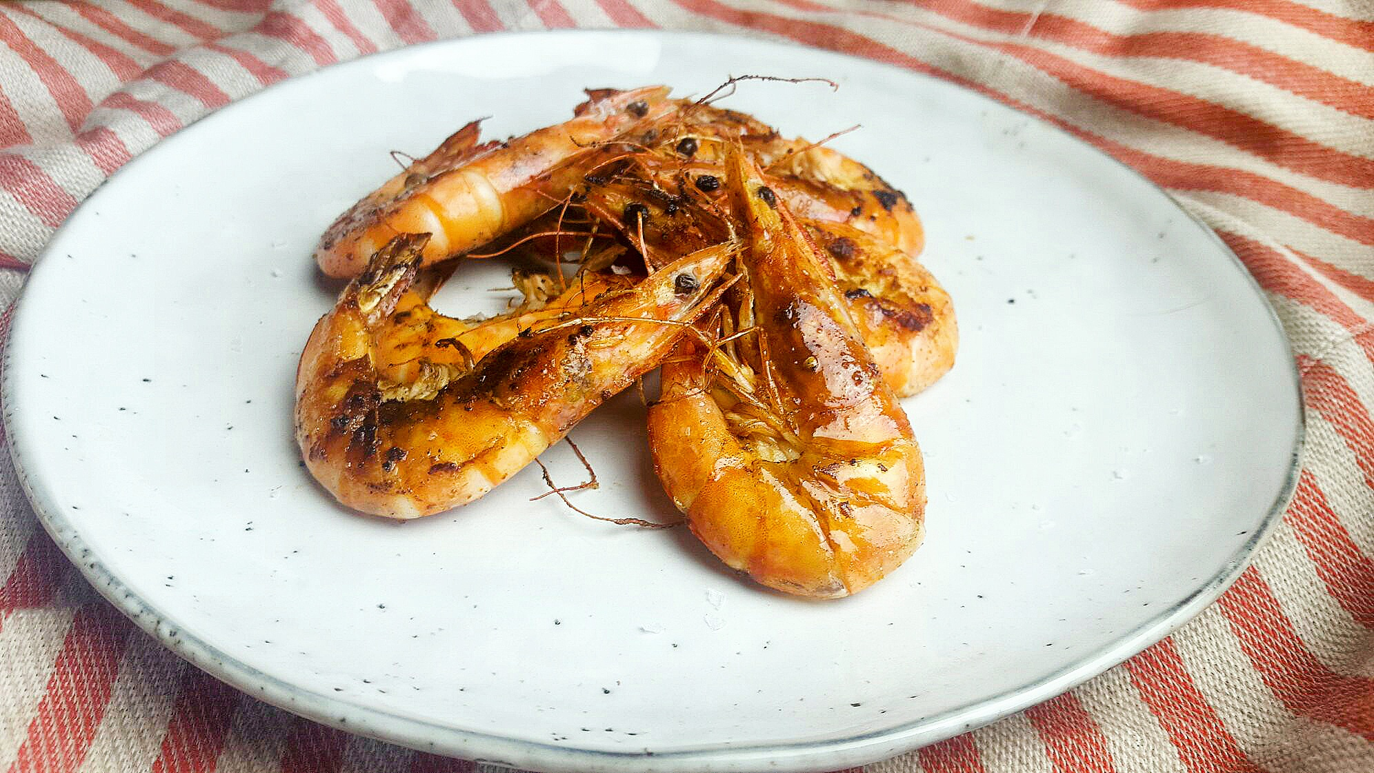 Grilled Marinated Prawns Recipe