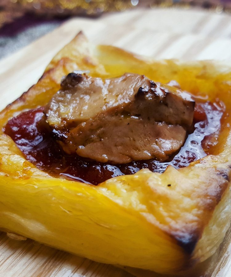 foie gras canapés