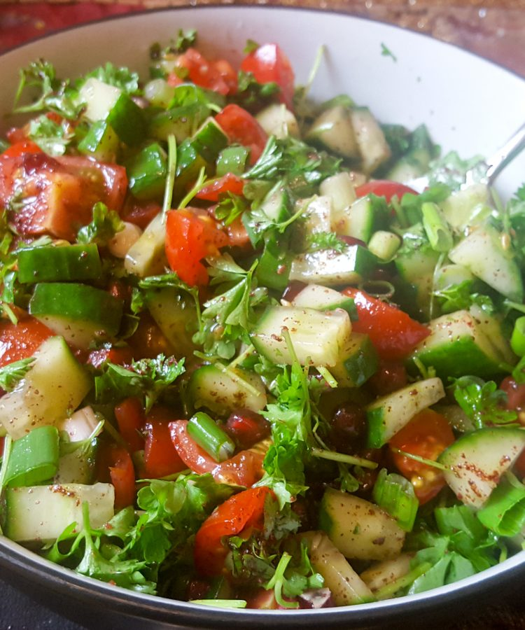 Iranian Shirazi Salad