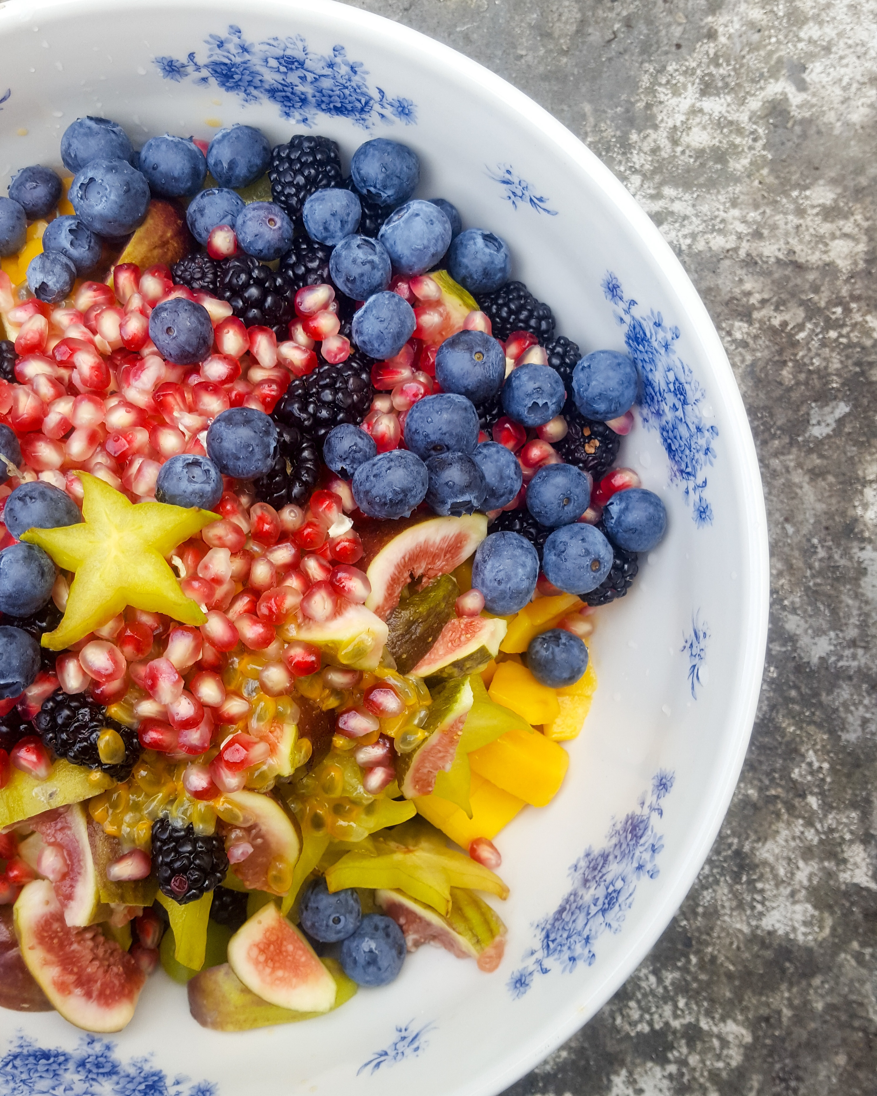 Tropical Fruit Salad And The Mother Of All Gins