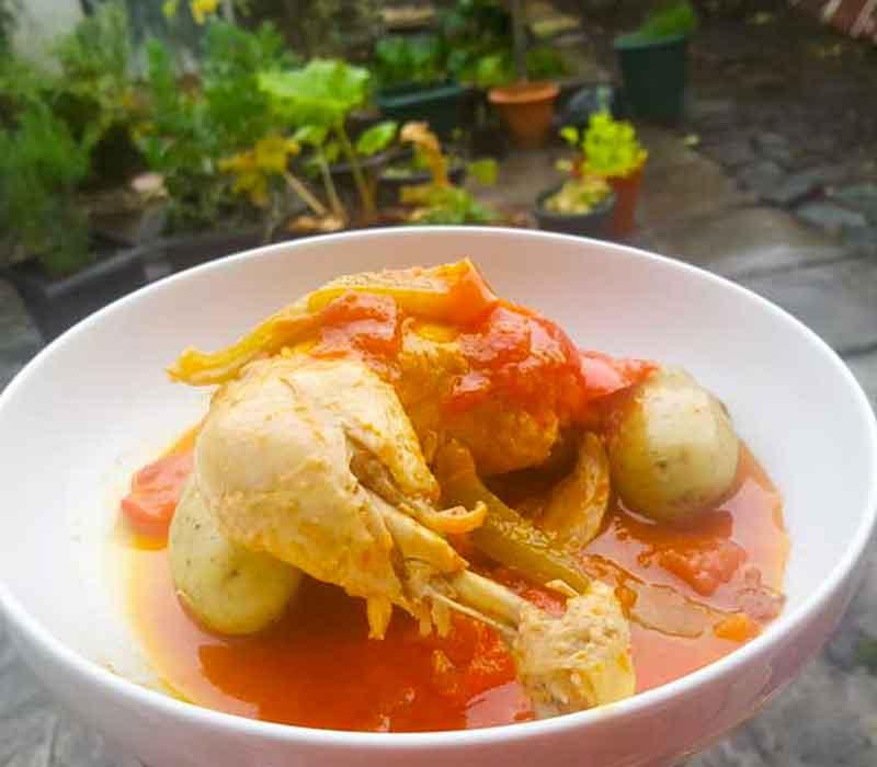 Basque Style Chicken