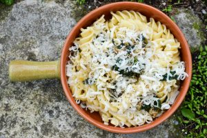 Pasta With Bread And Spinach