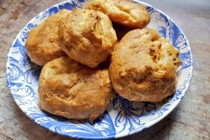 Gougères Also Known As French Cheese Puffs