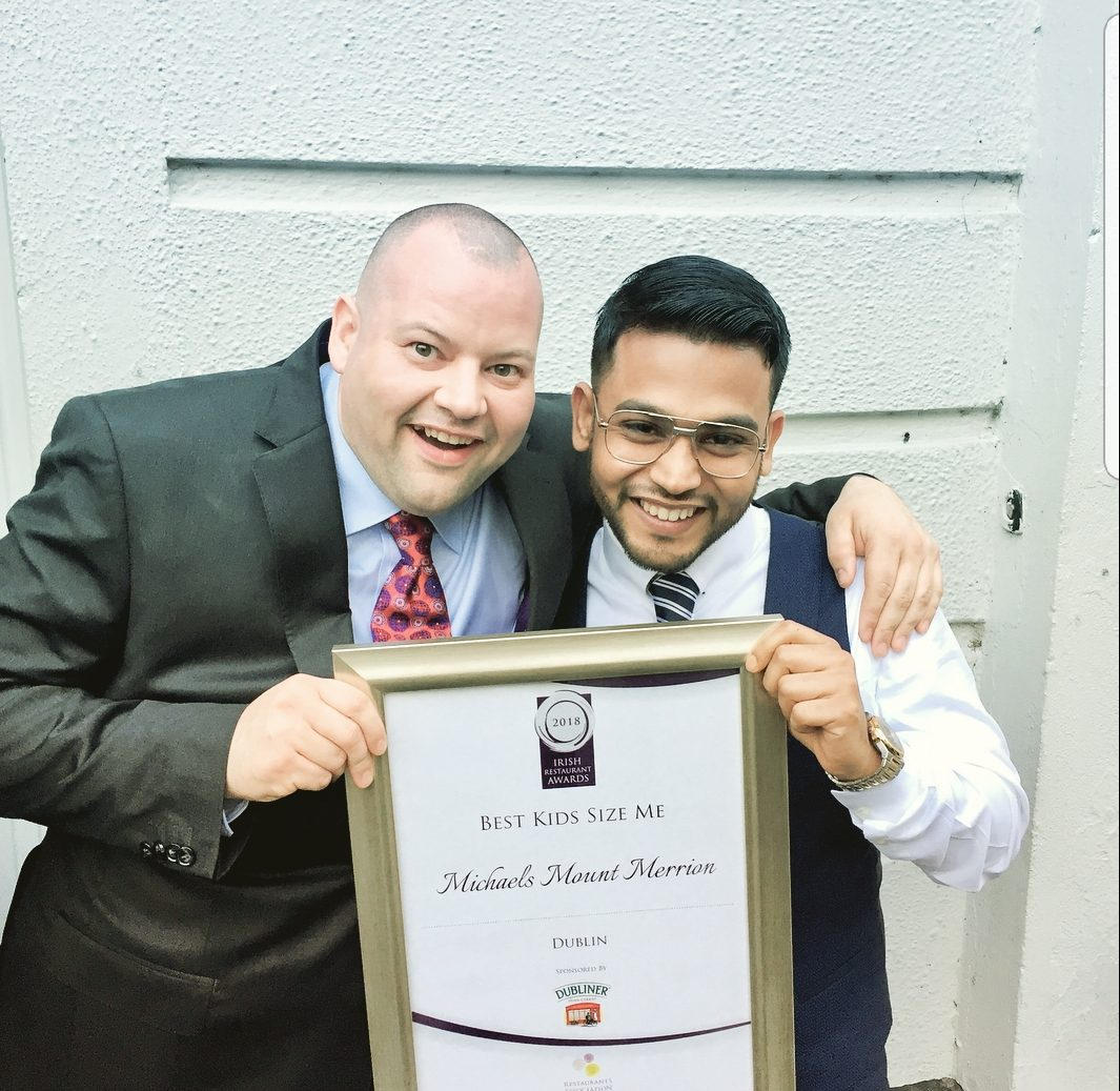 Talha Pasha, General Manager, Michael's Of Mount Merrion
