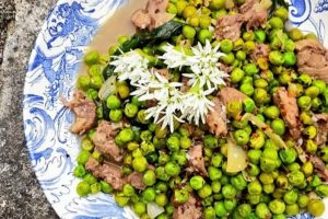 Left-Over Lamb And Peas – Spring In A Plate