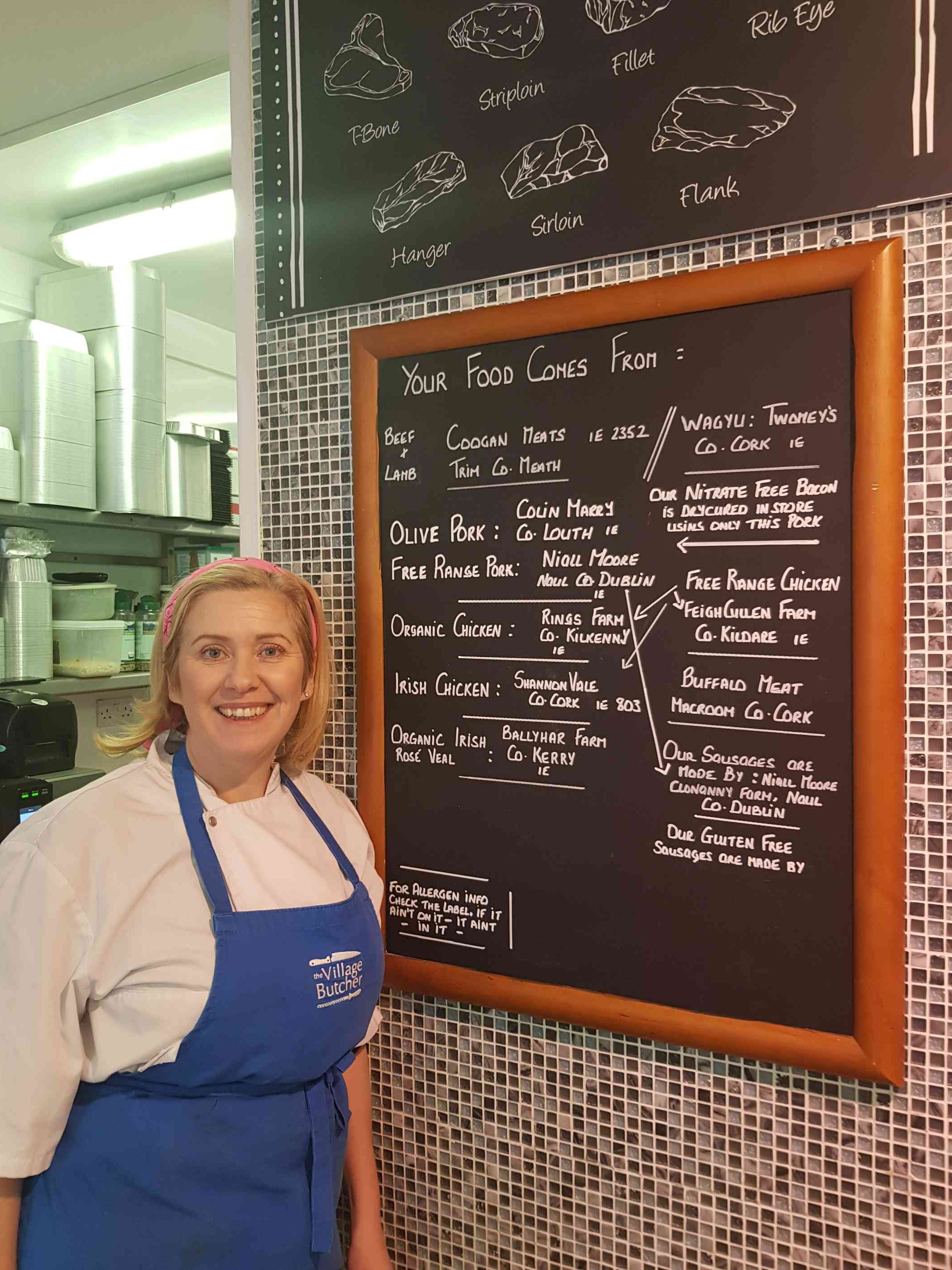 Women Of The Irish Food Industry – Sarah Kelly, (Village) Butcher