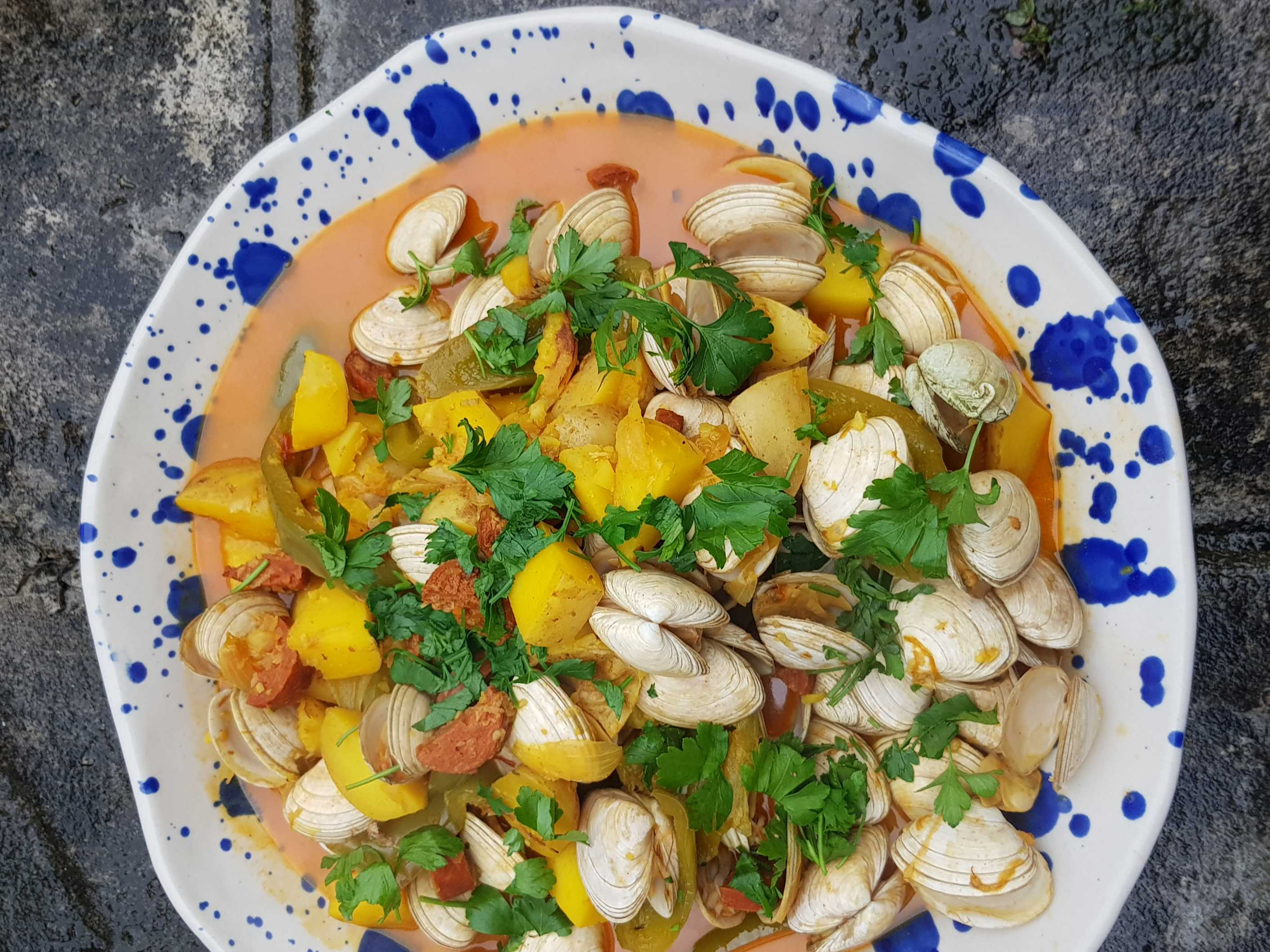 Spanish Style Clams Recipe Inspired By Rick Stein