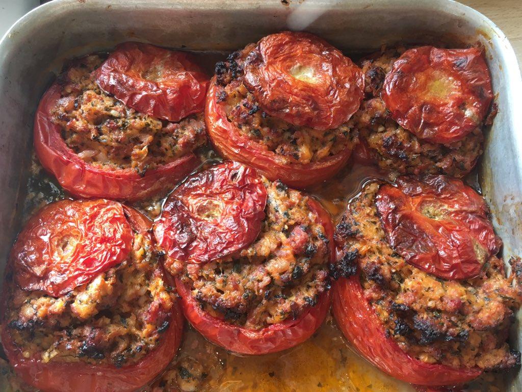 Stuffed Tomatoes – Tomates Farcies A La Francaise –