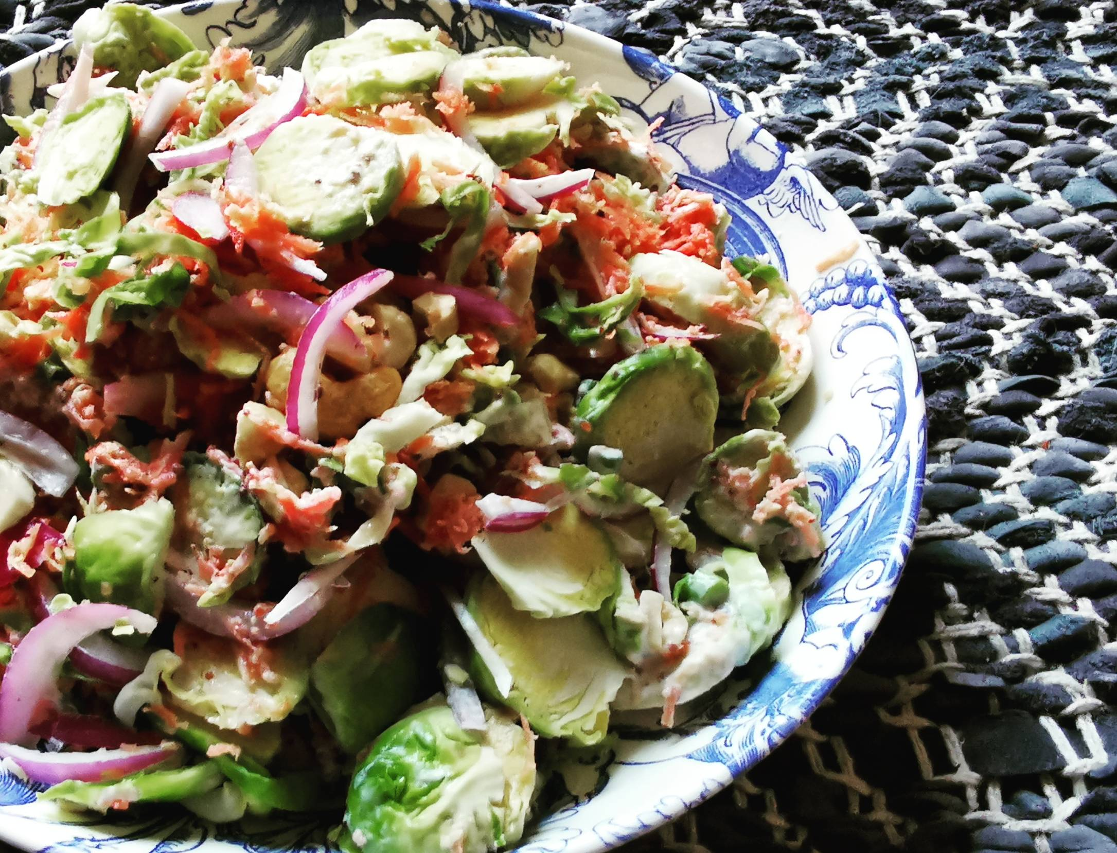 Brussel Sprouts Slaw Recipe