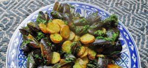 Moules au beurre vert`- Properfood.ie