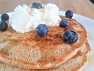 Wholemeal Blueberry Pancakes - Properfood.ie