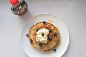 Wholemeal Blueberry Pancakes Recipe