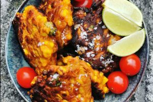 GOCHUJANG SWEETCORN FRITTERS RECIPE