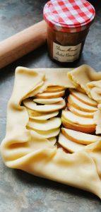 Salted Caramel Apple Tart - properfood.ie