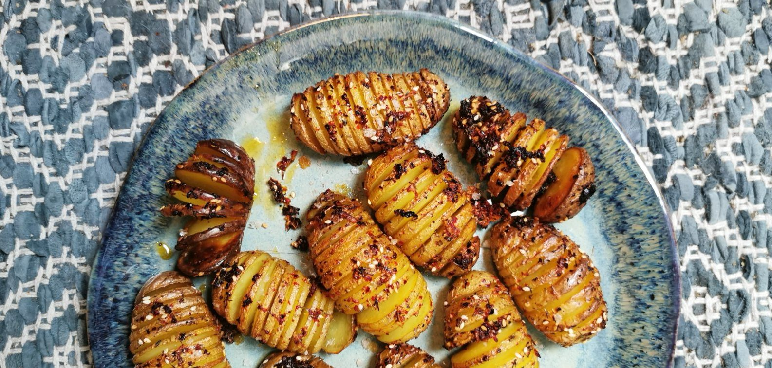 HOW TO IMPROVE YOUR HASSELBACK POTATOES